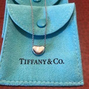 Authentic Tiffany&Co Peretti Petite Bean Necklace